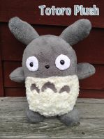 My Neighboh Totoro Plush by CeltysShadow