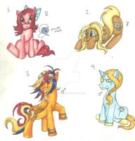 Adopt-a-foals: round one by KHwhitelion