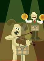 Wallace And Gromit - The Proms Colour Version by AnimationFanatic