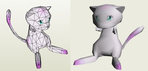Papercraft - Mew by Jyxxie