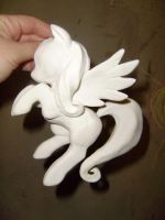 WIP Fluttershy My Little Pony FiM Sculpture by Inukamy