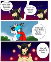 Anthro Rabbit TF TG page 1 (kiribian 40k) by DarkDragon-Phoenix
