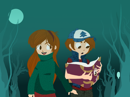 Mystery Twins by Shinigami-Picola