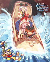 KH - Splash Mountain by rasenth