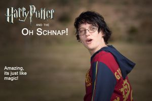 Harry Potter Oh Snap by Kit-the-Pyro