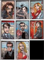 Heroes Sketch Cards by JeremyTreece