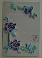 Quilling - Card 5 by Eti-chan
