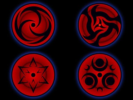 SHARINGAN collection - 3 by Chase-TH