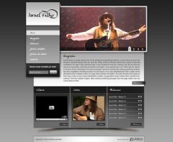 Layout - Israel Filho by lcdesigner