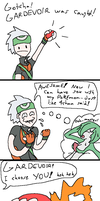 Me and my Gardevoir by doodlegarmander