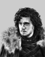 Jon Snow by loveinfullbloom