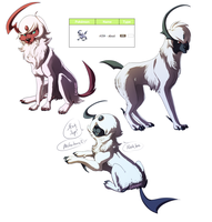 Absol-Pokedesign by amathystwolf