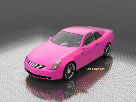 Japanese Car Pink by ozanbdesign