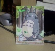 Tiny Totoro Painting by SentWest
