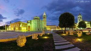 Center of Zadar by ivancoric