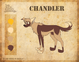 Chandler-Up and Ahead Fan Sheet by BloodVendor
