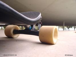 one step Dropdown Longboard by celaoxxx