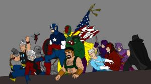 Avengers Assemble by SEELE-02