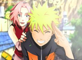 NaruSaku Love by Sakuritha97