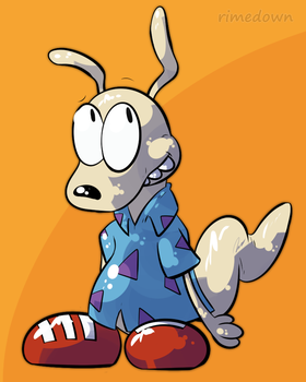 Rocko - Day 1434 by Seracfrost