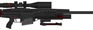 D.I.I. Zeo-900 50cal. Sniper Rifle by Lord-DracoDraconis
