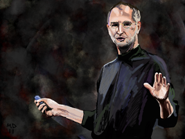 Steve Jobs by mudimba