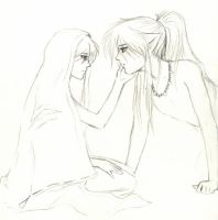 Inuyasha: more sketchies by bananaslug77