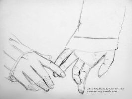 Holding Hands by alfi-ramadhani