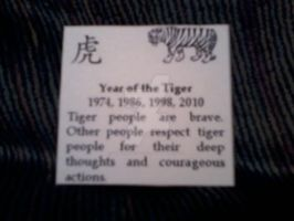 Tiger Talisman Meaning by SuperVegeta71290