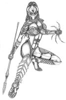 predator queen by in2thedarkside