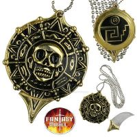 Pirate Coin Necklace With Hidden Knife by FireWolfNinja22