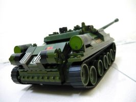 Russian WWII Tank Destroyer 6 by SOS101