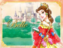 The Disney Ladies - Belle by Alce1977
