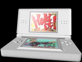 DS Lite Model with shaders - 2 by Wolf-Pup-TK