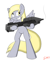 Derpy's Armed And Ready by Call-Me-Jack