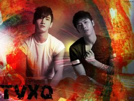 TVXQ the legend by JangNoue