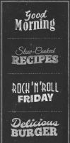 Chalkboard Typography Text Effects by GraphicBurger