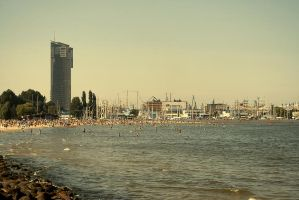 Gdynia from the Boulevard by dioxidin2002