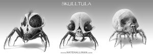 Skulltula Sketches by NateHallinanArt