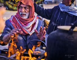Iraq street by alialnasser