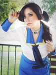 Elizabeth Comstock - BioShock Infinite cosplay by Vicky-Redfield