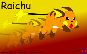 Raichu Used Agility by NS-Games