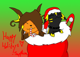 Happy Holidays by ToxicSerpent