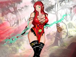 WoW Monk - Aelrin by Reito-sama