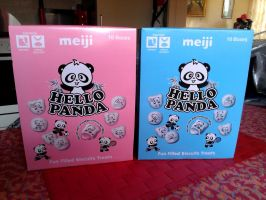 Hello Panda - Japanese Filled Biscuits by Redfield-1982