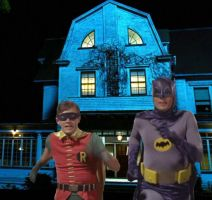 Batman Amityville by Brandtk