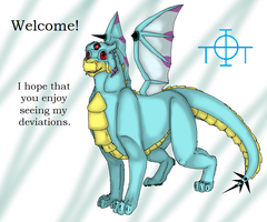 Welcome! by TheDragonInTheCenter