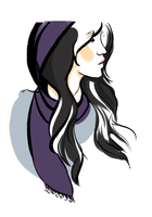 Jessica Jones Doodle by Bansini