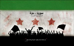 Free .. Syria by la7dh7zn