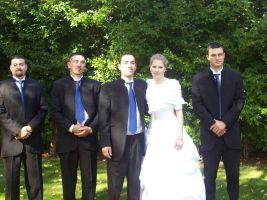 Gemma and the Men by AAAPhotography